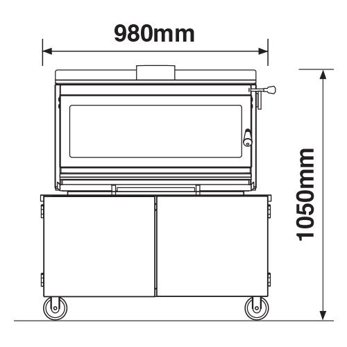 Outdoor 850T Dimensions