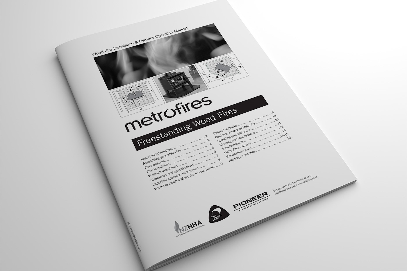 Metro Freestanding Models Manual