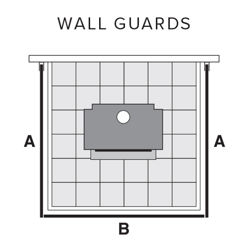 fire place wall guards